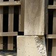 110 柱と基礎石とのズレ、基礎の傾き