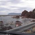 903 45cm隆起した海岸(門前町剱地付近)