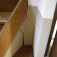 503-2 廊下と座敷の亀裂 床不陸