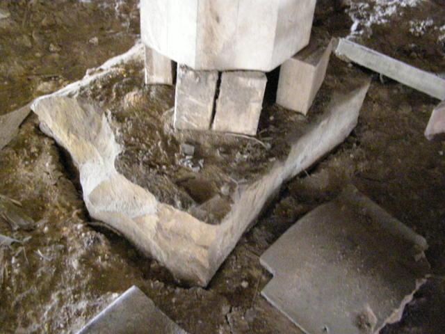 119 柱脚損壊 基礎沈下