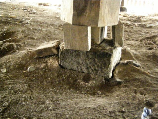 123 柱脚損壊