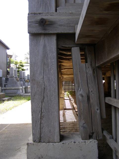 132-2 束柱と基礎のズレ・傾斜