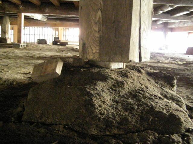 144 柱脚損壊
