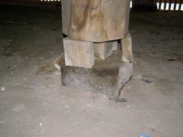 145 柱脚損壊