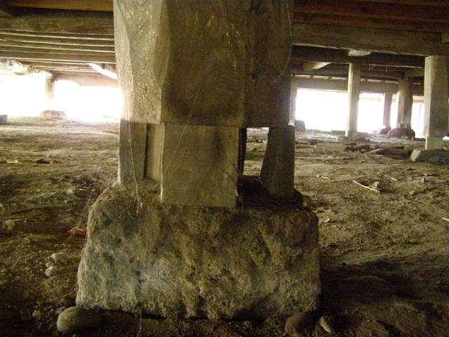 172 基礎沈下 柱脚損壊